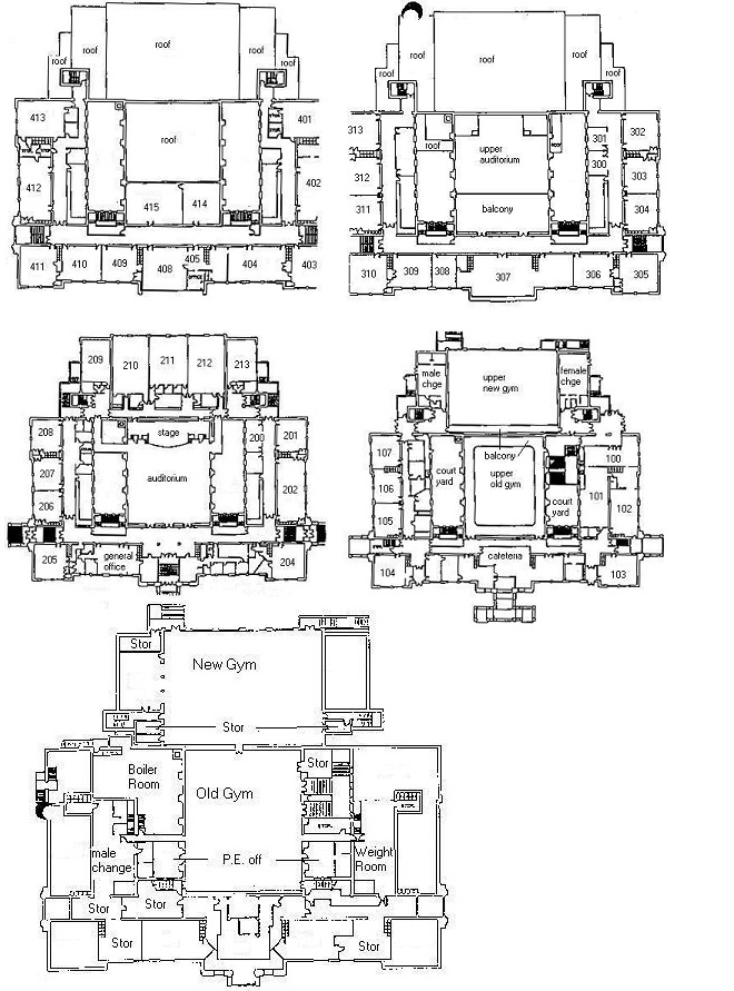 School building blueprints victoria high building blueprints malvernweather Choice Image